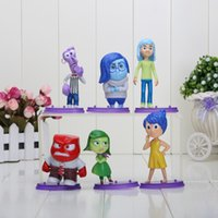 8- 10cm New Arrival 6pcs set Cartoon Movie Inside Out PVC Fig...