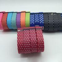 REPLCE coeurs Partie Rubber Band Hot Sale Fitbit Flex bracelet de remplacement Dots TPU avec Métal fermoirs pour Fitbit Flex sans fil Bracelet DHL