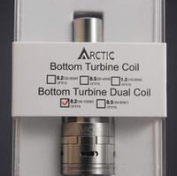 DHL atomizador Ártico libre de 1: 1 clon horizonte kits de tanque sub ártico BTC BTDC Ártico Tanque vs Kang depósito secundario de mini nano depósito secundario