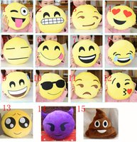 50pcs Cushion Cute Lovely Emoji Smiley Pillows Cartoon Facia...