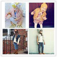 Knitting Tassel Sleeveless Vest Macrame Solid Color Kids Clo...