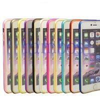 El más nuevo de aluminio delgado teléfono celular marco duro de la caja de parachoques del metal para el Samsung Galaxy Nota 3 / Nota4 / s6 / s6edge para Iphone 6plus 6 5 4 4s 5s