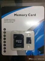 Tarjeta de memoria de 128GB 64GB 32GB MicroSD de la tarjeta de memoria del TF Tarjeta Flash SDHC de 10GB de tarjetas Adaptador libre del paquete al por menor xperia te, móvil del sander del jil