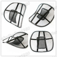 free shipping car seat office chair massage back lumbar support mesh ventilate cushion pad cushion stuffing - Office Chair Seat Cushion