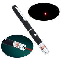 Alta qualità 5mW penna a forma di singolo punto LED rosso Laser fascio puntatore per lavoro insegnamento formazione DHL L0391