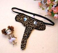 1 PCS Sexy Mens Leopardprint Underwear Elephant Head U conv...