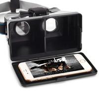 """Portable VR occhiali 3D con Succhiare disco per i telefoni astuti formato fino a 5,5 """"Virtual Reality Occhiali 3D per 3D film giochi V944"""