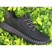 Real Yeezy Boost 350 Black Fashion shoes Top Quality Tan Gre...