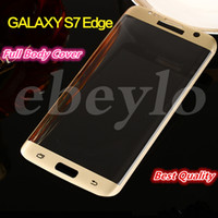 Samsung Galaxy S7 Edge Full Cover 3D Curved Side Tempered Gl...