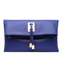 Brand New Women Handbag Clutch Envelop Shape Carry Bag 6 Col...