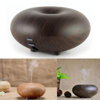 Hot Sell Wood Grain Ultrasonic Air Humidifier Aroma Diffuser...