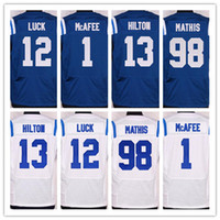2016 Indianapolis football jersey Colts Soccer rugby jerseys...