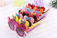 Free Shipping 201 Cute Mickey   Minnie Mouse Children Sungla...