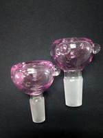 Coloré bol verre quartz famale bols 14.4-18.8mm verre jiont mélange 4 bangers couleurs pour verre Water Bongs Ash cueilleur rose vert bleu bols