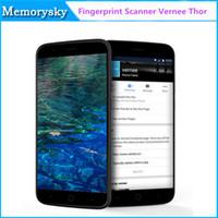 Escáner de huellas digitales Vernee Thor teléfono móvil 5.0inch MTK6753 Octa Core 4G LTE 3GB 16GB Android 6.0 Touch ID 13 MP de carga rápida Smartphone