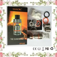 SMOK TFV8 Réservoir Kit complet TFV8 Cloud Beast vaporisateur E Cig Réservoirs Cigarette électronique Sub ohm tank clone via TFV4 Atomiseur