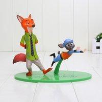 11- 15cm Zootopia Animals Action Figure Toys Rabbit Judy Hopp...