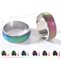 Ring For Women Fashion Creative Mood Womens rings for Women ...