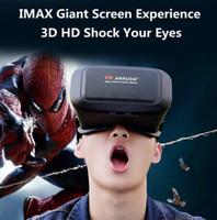 VR lunettes Google VR lunettes virtuelle réalité lunettes 3D lunettes tempête VR casque lunettes 3D théâtre virtuel pour 3,5 pouces 6 pouces smartphone