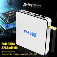 Latest YOKATV S912 Octa- core OTT Box Android6. 0 TV BOX 2G+ 32...