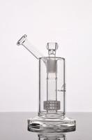 Mobius Matrice stéréo perc- nouvelle huile recycleur foreuse bongs d'eau en verre tuyaux pour la hauteur de fumer 210mm Tube plate-forme pétrolière