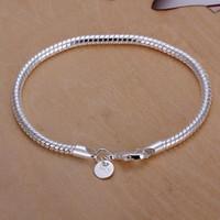 Bracelet 925 bijoux en argent Bracelet Mode pour les femmes Bracelets Hommes Vente en gros Bracelets Livraison gratuite pour les femmes