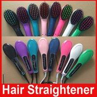 Fast Hair Straightener brush Flat Iron HQT- 906 irons Straigh...