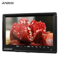 Andoer 7 '' ultrasottile on-videocamera monitor Full HD 1920x1200 IPS Schermo Monitor con parasole HDMI D3990-2 ingresso
