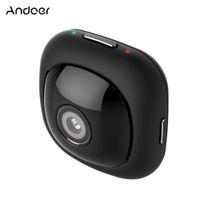 Andoer G1 Mini portatile compatto portatile Full HD macchina fotografica di tasca 120 gradi grandangolare 1080P 30FPS Wifi App controllo 8MP Auto selfie D4092