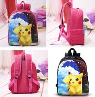 New Poke go Children Backpack Kindergarten Kid School Bag Pi...