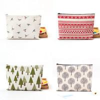 Canvas Fabric Clutch Bag Purse Handbag File Pocket Coin Purs...
