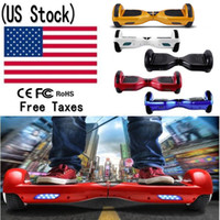 Stock épuisé! UL2272 6.5 pouces 2 roues Smart Balance Scooter Scooter électrique Skateboard Hoverboard Monocycles adultes Scooters Hover Drift Board