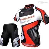 2014 mountainpeak men' s cycling Jersey sets with short ...