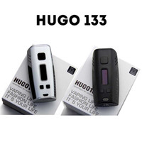 Véritable HUGO 133 TC Mod HUGO133 HUGO Vapor E Cigarettes 133W Box Mod intelligent Vaporisateur 0,96 '' écran OLED double 18650 Vape Mods