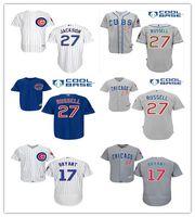2016 Chicago Cubs Jerseys 27 Addison Russell Baseball Jersey...
