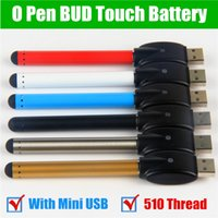 50Pcs O- pen vape bud touch 280mah auto battery with USB Char...