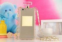 mobiles étuis pour téléphones parfum uxury Case Perfume Bottle Apple iPhone6 4.7inch 6 Plus 5.5