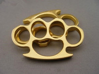 new GILDED THICK THICK 13mm STEEL BRASS KNUCKLE DUSTER color...