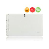 4 Core 1.6Ghz Phablet 2G + 32G MTK6582 3G Téléphone Appel tablet pc android 4.4 bluetooth Wifi double caméra sim 10