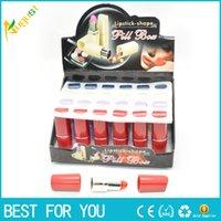 2016 whole sale New Secret Lipstick Shaped Stash Medicine Pi...