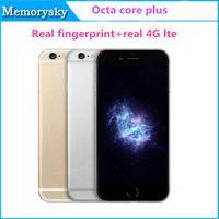 i6s Плюс 1: 1 5.5inch MTK6753 окта Ядро реального отпечатка пальца Реальный 4G Lte 13M 1G 16GB Android 5.1 смартфон разблокирована
