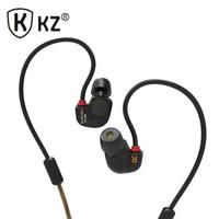 Gros-New Casque d'origine KZ ATE S fone de Ouvido HIFI KZ ATE-S auriculares Stereo Sport Super Bass casque antibruit