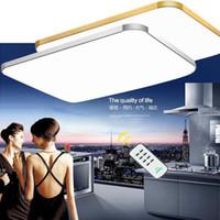 Регулируемый потолочный светильник Квадратный Светодиодный потолочный светильник Мода Droplight Люстра iPhone форма Потолочный светильник мульти размер выбор # 04