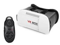 2016 Head Mount plástico VR BOX versión VR Virtual Reality Gafas Rift Google Cardboard 3D Movie para 3.5