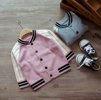 Fashion Baby Kids Clothing Boys Girls Sweaters Cardigans Cut...