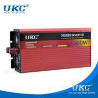 UKC 4000W / 4KW 12V / 24V к 220V зарядное устройство инвертора автомобиля для морозильной камеры