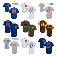 2016 Flexbase Men' s Chicago Cubs 68 Jorge Soler 17 Kris...