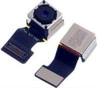Véritable remplacement arrière caméra arrière module de caméra avec flash pour iPhone 5 5g 5s 5c avec livraison gratuite