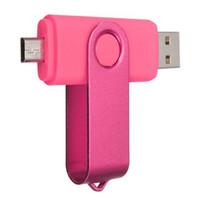 64GB 128GB 256GB OTG внешний USB флэш-накопитель USB 2.0 флэш-памяти для Android смартфонов таблетки PenDrives U Disk Thumbdrives DHL