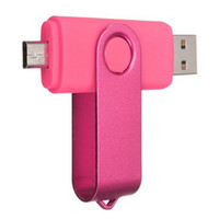 64GB 128GB 256GB OTG externo USB Flash Drive USB 2.0 Flash Drive Memoria para Smartphones Android Tabletas PenDrives U Disco Thumbdrives DHL